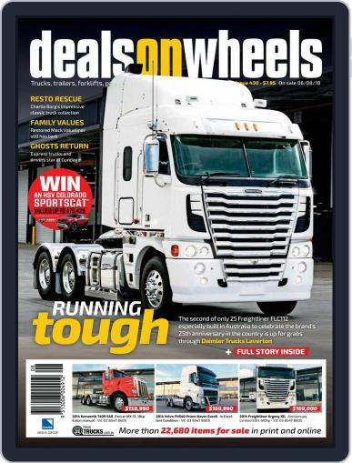 Deals On Wheels Australia August 6th, 2018 Digital Back Issue Cover