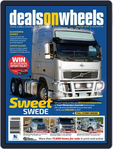 Deals On Wheels Australia (Digital) July 9th, 2018 Issue Cover