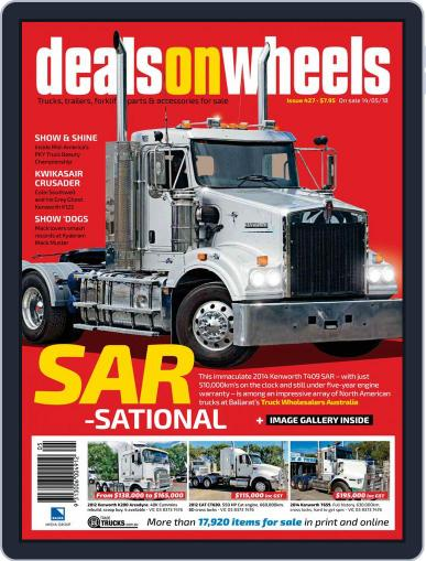 Deals On Wheels Australia (Digital) May 14th, 2018 Issue Cover