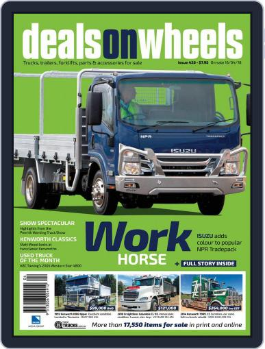 Deals On Wheels Australia (Digital) April 16th, 2018 Issue Cover