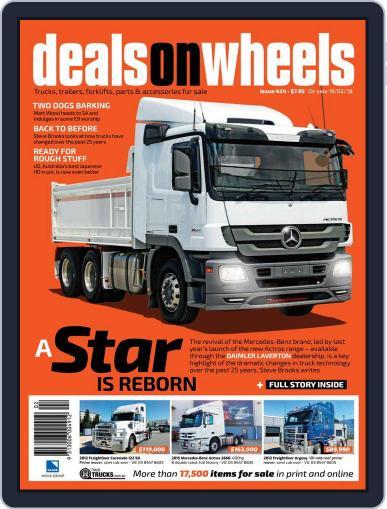 Deals On Wheels Australia (Digital) February 19th, 2018 Issue Cover