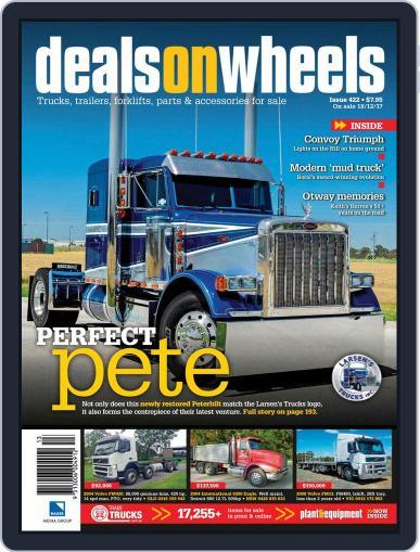 Deals On Wheels Australia (Digital) December 18th, 2017 Issue Cover