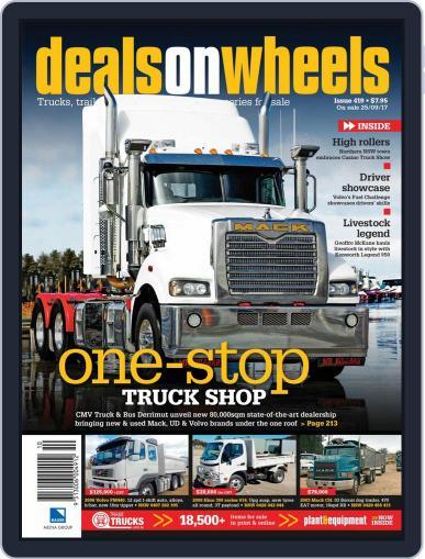 Deals On Wheels Australia (Digital) September 25th, 2017 Issue Cover