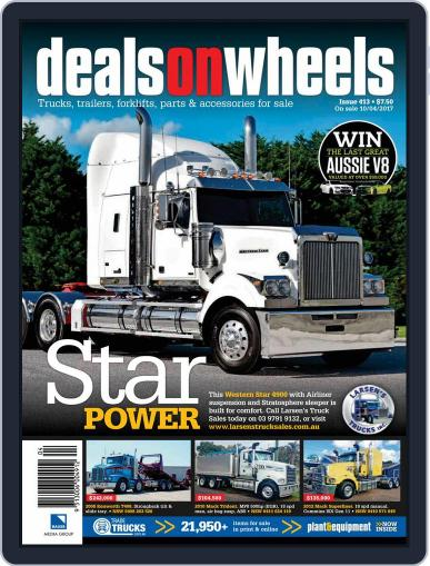Deals On Wheels Australia (Digital) May 1st, 2017 Issue Cover