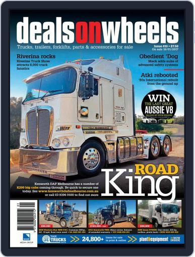 Deals On Wheels Australia (Digital) February 1st, 2017 Issue Cover