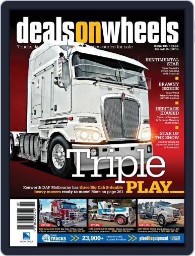 Deals On Wheels Australia (Digital) September 1st, 2016 Issue Cover