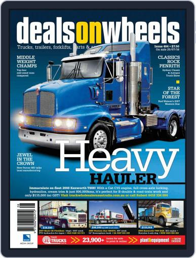 Deals On Wheels Australia (Digital) July 24th, 2016 Issue Cover