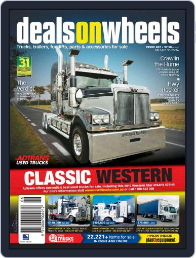Deals On Wheels Australia (Digital) May 29th, 2016 Issue Cover