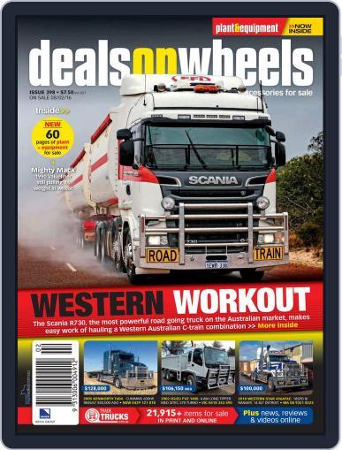 Deals On Wheels Australia (Digital) February 1st, 2016 Issue Cover