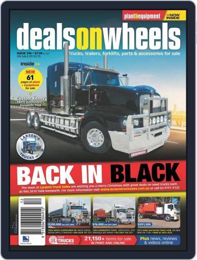 Deals On Wheels Australia (Digital) December 7th, 2015 Issue Cover