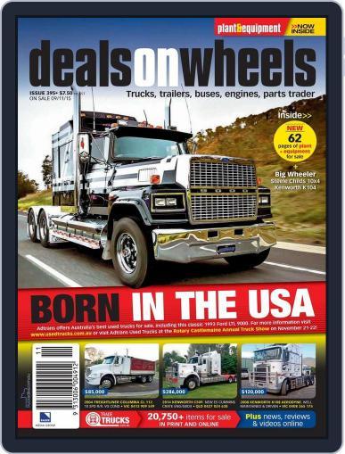 Deals On Wheels Australia November 9th, 2015 Digital Back Issue Cover