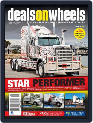 Deals On Wheels Australia (Digital) October 11th, 2015 Issue Cover