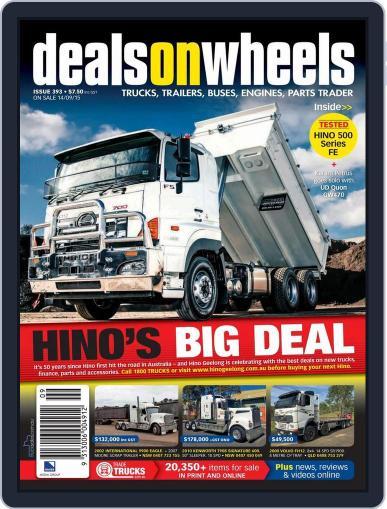 Deals On Wheels Australia (Digital) September 14th, 2015 Issue Cover
