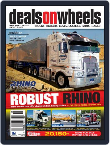 Deals On Wheels Australia (Digital) August 1st, 2015 Issue Cover