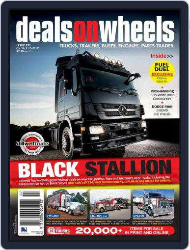 Deals On Wheels Australia (Digital) July 1st, 2015 Issue Cover