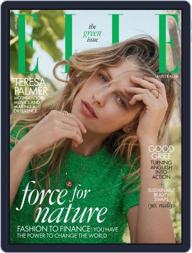ELLE Australia April 1st, 2020 Digital Back Issue Cover