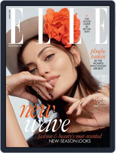 ELLE Australia (Digital) March 1st, 2020 Issue Cover