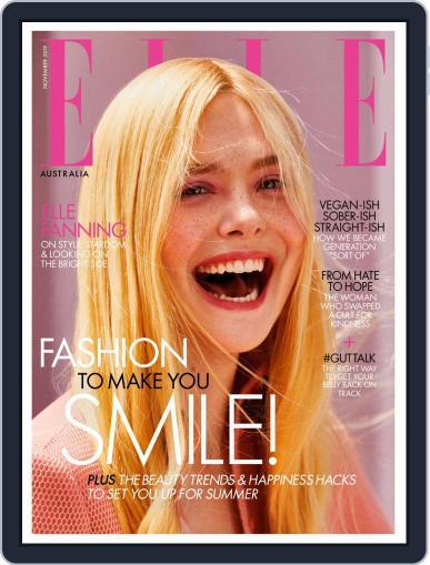 ELLE Australia November 1st, 2019 Digital Back Issue Cover