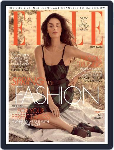 ELLE Australia (Digital) October 1st, 2019 Issue Cover