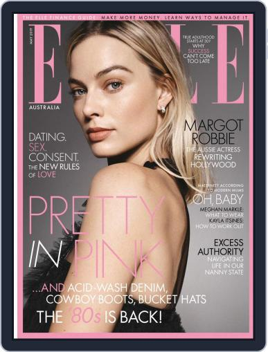 ELLE Australia May 1st, 2019 Digital Back Issue Cover