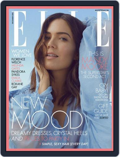 ELLE Australia (Digital) December 1st, 2018 Issue Cover