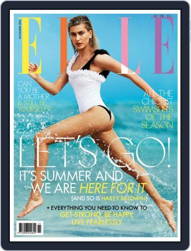 ELLE Australia (Digital) November 1st, 2018 Issue Cover