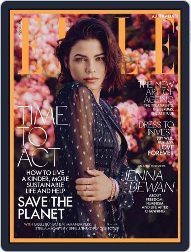 ELLE Australia August 1st, 2018 Digital Back Issue Cover