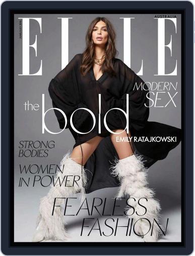 ELLE Australia June 1st, 2018 Digital Back Issue Cover