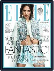 ELLE Australia (Digital) Subscription April 1st, 2018 Issue