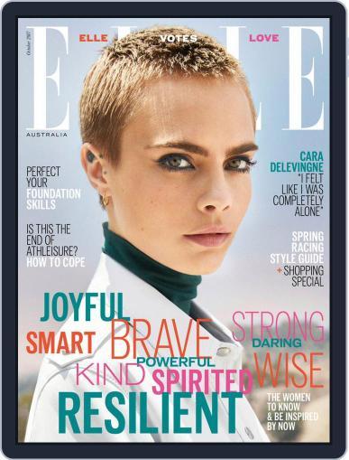 ELLE Australia October 1st, 2017 Digital Back Issue Cover