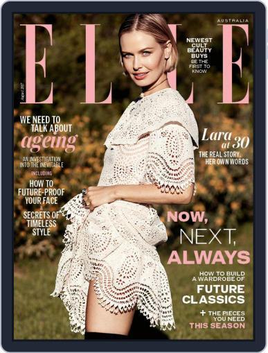 ELLE Australia August 1st, 2017 Digital Back Issue Cover