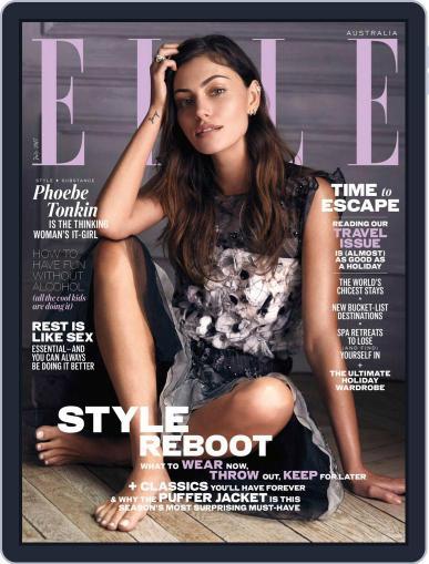 ELLE Australia July 1st, 2017 Digital Back Issue Cover