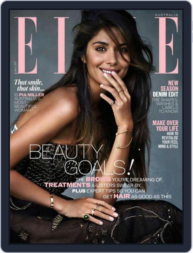 ELLE Australia (Digital) April 1st, 2017 Issue Cover