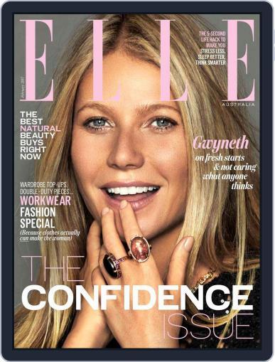 ELLE Australia (Digital) February 1st, 2017 Issue Cover