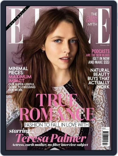 ELLE Australia (Digital) January 24th, 2016 Issue Cover