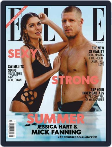 ELLE Australia (Digital) November 18th, 2015 Issue Cover