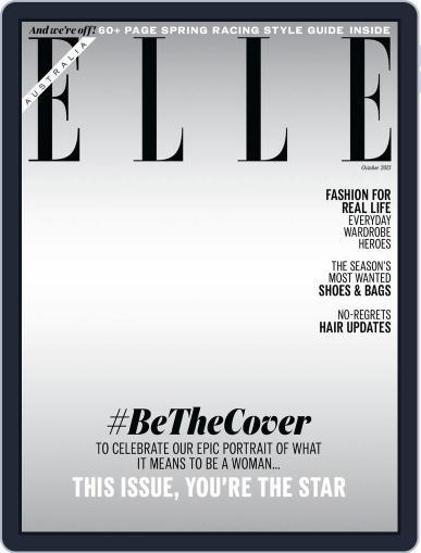ELLE Australia (Digital) September 20th, 2015 Issue Cover