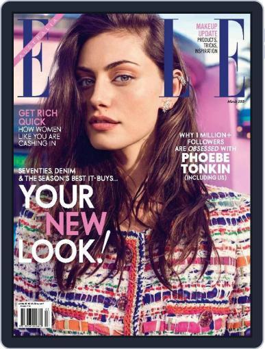 ELLE Australia (Digital) February 22nd, 2015 Issue Cover