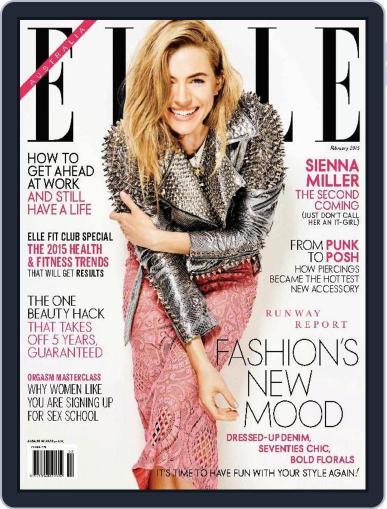 ELLE Australia (Digital) January 18th, 2015 Issue Cover