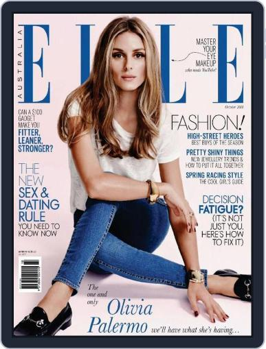 ELLE Australia (Digital) September 21st, 2014 Issue Cover