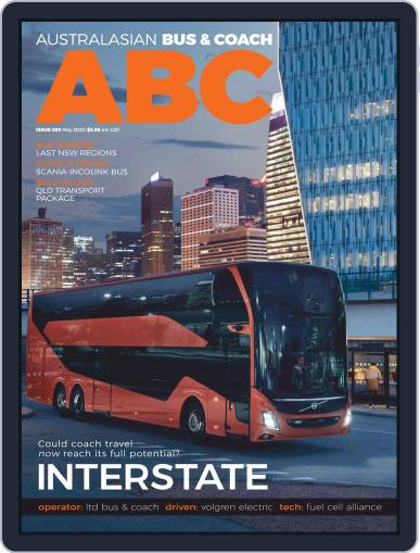 Australasian Bus & Coach May 22nd, 2020 Digital Back Issue Cover