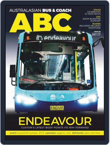 Australasian Bus & Coach (Digital) January 1st, 2020 Issue Cover