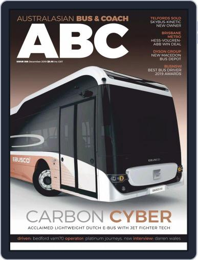 Australasian Bus & Coach (Digital) December 1st, 2019 Issue Cover