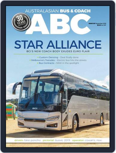 Australasian Bus & Coach (Digital) November 1st, 2019 Issue Cover