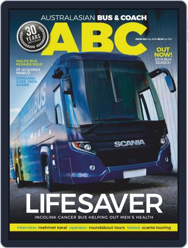 Australasian Bus & Coach (Digital) July 1st, 2019 Issue Cover