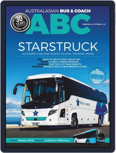 Australasian Bus & Coach (Digital) June 1st, 2019 Issue Cover