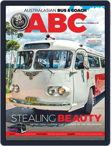 Australasian Bus & Coach (Digital) March 1st, 2019 Issue Cover