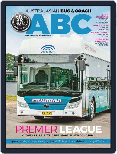 Australasian Bus & Coach February 1st, 2019 Digital Back Issue Cover