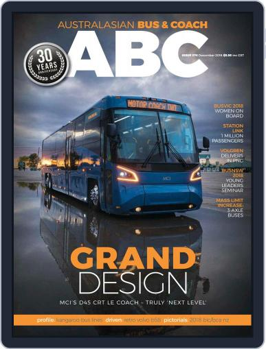 Australasian Bus & Coach (Digital) December 1st, 2018 Issue Cover