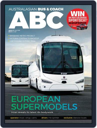 Australasian Bus & Coach (Digital) July 1st, 2018 Issue Cover
